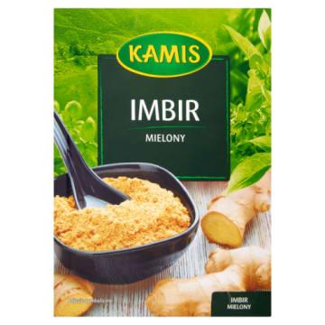 Kamis - Imbir mielony 15g. Produkt, którego nigdy nie powinno zabraknąć w żadnej kuchni.