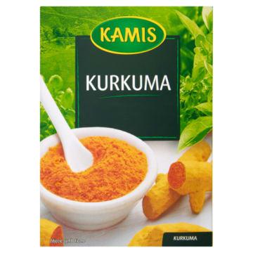 Mielona kurkuma - Kamis. Aromatyczna przyprawa zwana szafranem indyjskim. Źródło kurkuminy.