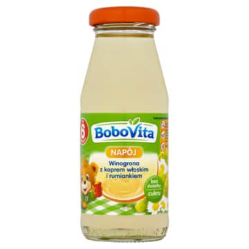 Bobovita - Napój Winogrona z koprem włoskim i rumiankiem. Przeznaczony dla dzieci po 4 meisiącu.