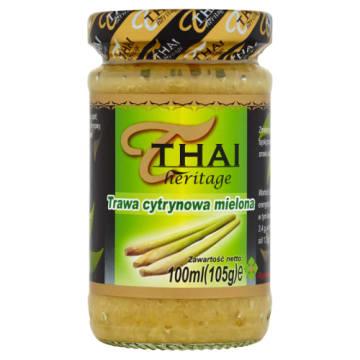 Mielona trawa cytrynowa – Thai Heritage jest tradycyjną przyprawą w kuchni azjatyckiej.