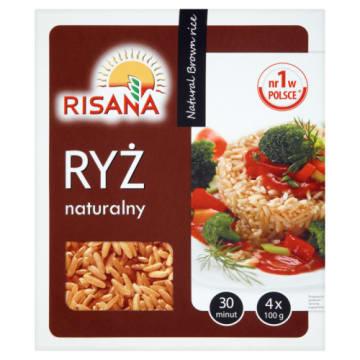 Ryż naturalny brązowy - Risana