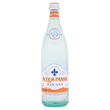 Woda mineralna niegazowana - Acqua Panna może być spożywana codziennie, jako składnik zdrowej diety.