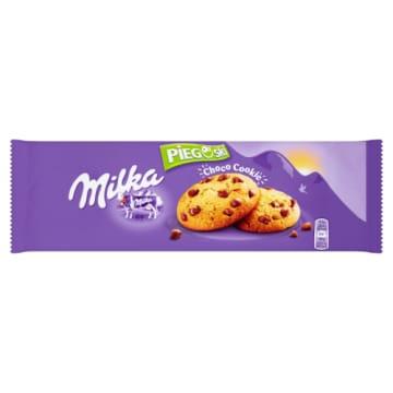 Ciastka z czekoladą - Pieguski - Milka
