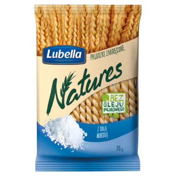 Paluszki zakręcone z solą morską - Lubella