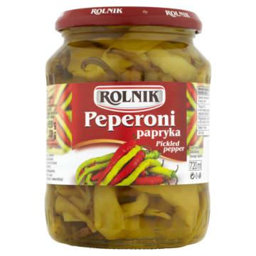 Rolnik - Papryka peperoni 720ml. Dodatek do mięs.