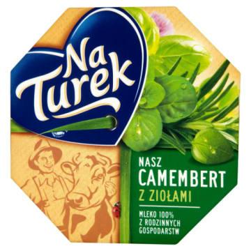 Ser pleśniowy z ziołami - Naturek. Ser pleśniowy o wyjątkowym ziołowym smaku.
