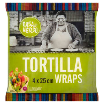 Tortilla pszenna 4 szt - Hoola