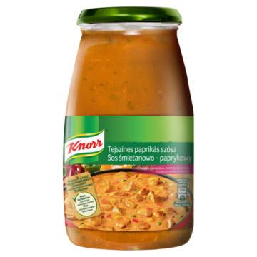 Sos do potraw Śmietanowo-pomidorowy - Knorr. Wyjątkowy smak i aromat każdego dania.