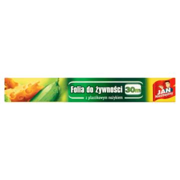 Folia do żywności - JAN NIEZBĘDNY. Przeznaczona do róznego rodzaju wyrobów.