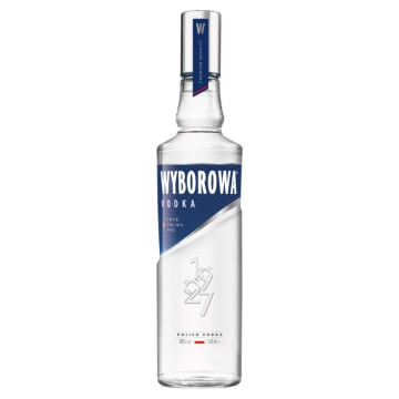 Wódka – Wyborowa. Wysokiej klasy trunek ceniony także w innych krajach.