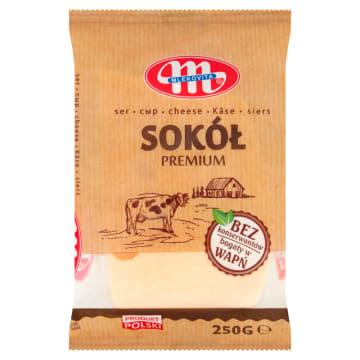 Mlekovita - Ser Sokół w kawałku. Łagodny smak idealny do kanapek.