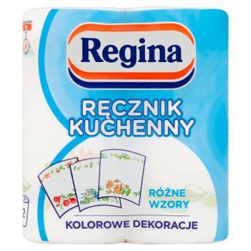 Ręcznik kuchenny wielofunkcyjny - Regina pomoże pozbyć się trudnych zabrudzeń.