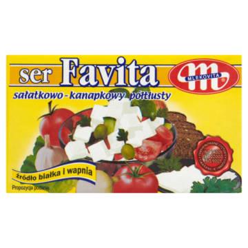 Favita Ser sałatkowo-kanapkowy 12% tłuszczu (light) Mlekovita