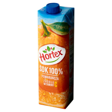 Sok 100% z pomarańczy, 1000 ml - Hortex