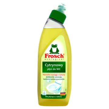 Żel do czyszczenia wc – Frosch. Środek do czyszczenia, który doskonale usuwa kamień.