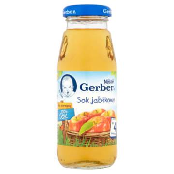 Gerber - Sok jabłkowy po 4 miesiącu 175ml doda energii maluchowi. Pysznie smakuje.