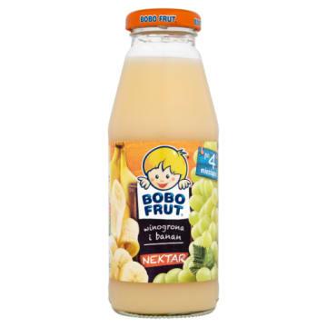 Bobo Frut - Nektar winogrono i banan - Po 4 miesiącu. Pyszny i bardzo zdrowy.