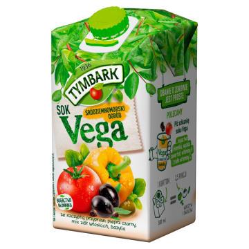 Sok z warzyw i owoców - Vega Śródziemnomorski Ogród - Tymbark