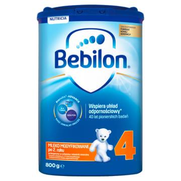 Mleko modyfikowane - Bebilon Junior to doskonałe urozmaicenie diety każdego maluszka.