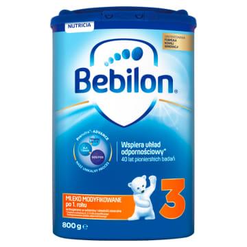 Mleko modyfikowane - Bebilon. Zapewnia dzieciom prawidłowe odżywianie i gwarantuje odpowiedni rozwój.