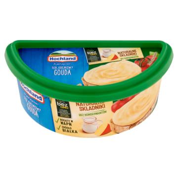 Hochland Ser topiony do smarowania w kubeczku o smaku czterech popularnych serów.
