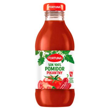 Fortuna Sok pomidorowy Tabasco 100%. Niezwykłe połącznie pomidorów z ostrym sosem.