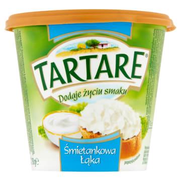 Serek twarogowy - TARTARE .Delikatna konsystencja i aksamitny smak.