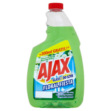 Ajax Floral Fiesta - Płyn do mycia szyb i gładkich powierzchni. Pomocnik w codziennych porządkach.