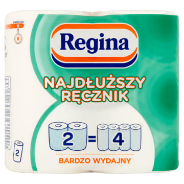 Ręcznik kuchenny - Regina. Dwuwarstwowy, niezwykle chłonny niezbędnik każdej kuchni.