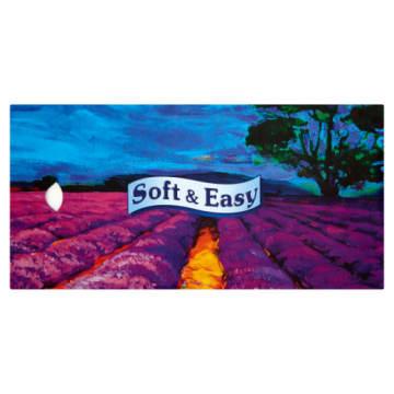 Chusteczki higieniczne Soft & Easy – dobra jakość, wysoka użyteczność, estetyczne pudełko.