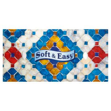 Chusteczki higieniczne-Soft&Easy Design. To delikatne i wytrzymałe chusteczki z czystej celulozy.