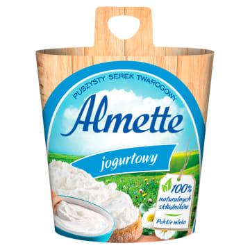 Serek twarogowy jogurtowy - Hochland Almette. Subtelny smak połączony z puszystą konsystencją.