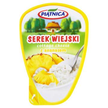 Serek wiejski z ananasem – Piątnica to smaczna przekąska dla każdego.