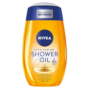 Olejek pod prysznic - Nivea. Intensywna pielęgnacja skóry pod prysznicem.