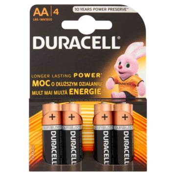 Baterie alkaliczne Basic LR 6/AA - Duracell. Trwałe i niezawodne baterie alkaliczne.
