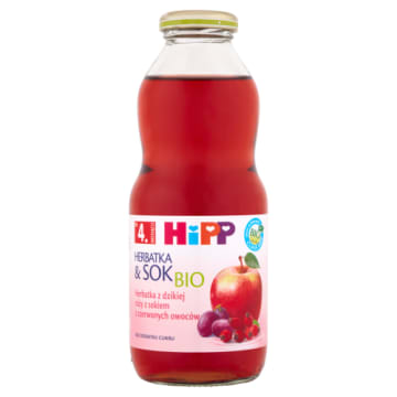 HIPP - herbatka z dzikiej róży. Idealna dla niemowląt