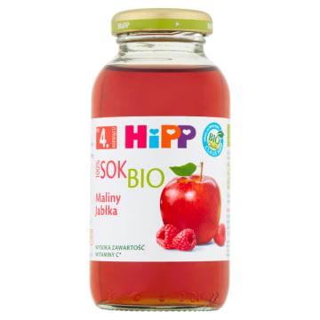 Hipp - Sok maliny jabłka, po 4 miesiącu 200ml. Pyszny napój przeznaczony dla najmłodszych.
