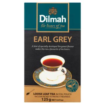 Czarna herbata z aromatem bergamoty - Dilmah Earl Grey Tea. Energetyzująca przyjemność