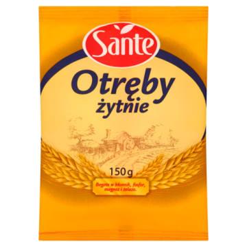 Sante - Otręby żytnie. Smaczne i zdrowe śniadanie.