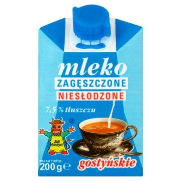 Mleko zagęszczone niesłodzone 7,5% 200g - SM Gostyń