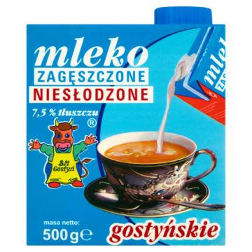 Mleko zagęszczone niesłodzone 7,5% - SM Gostyń