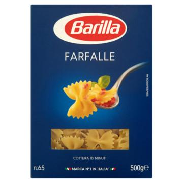 Barilla - Makaron kokardki Farfalle, 500 g. Baza do smacznych i zdrowych dań.