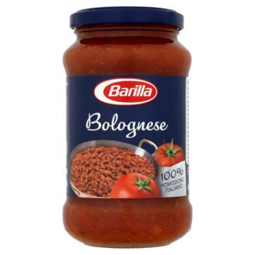 Barilla - Sos pomidorowy Bolognese (mięso i warzywa). Popularne, włoskie danie.