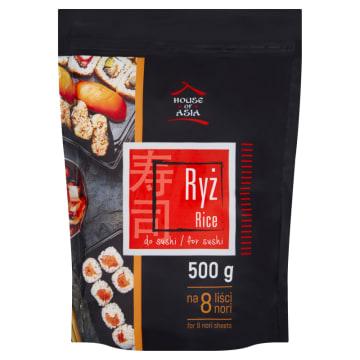 Ryż do sushi – House of Asia to nierozsypujące się ziarenka ryżu, idealne do dań kuchni azjatyckiej.