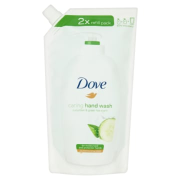 DOVE - kremowe mydło w płynie. Nawilża skórę dłoni