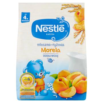 Nestlé - Kaszkla mleczno-ryżowa z morelą po 4 miesiącu jest prosta w przygotowaniu i bezpieczna.