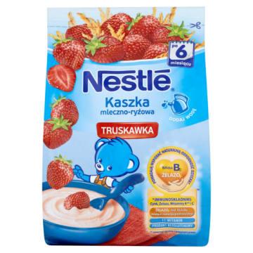 Kaszka mleczno-ryżowa po 6 mies. z truskawką – Nestle wspiera odporność dziecka.