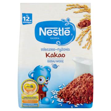 Nestle - Kaszka mleczno-ryżowa z kakao po 12. miesiącu. Pyszny wariant żywieniowy dla maluchów.