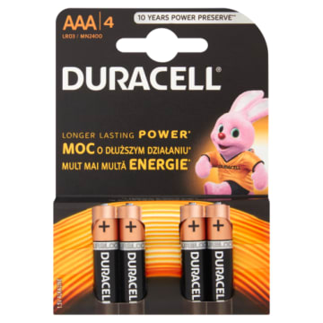 Baterie Alkaliczne - Duracell. Wysoka jakość oraz trwałość.