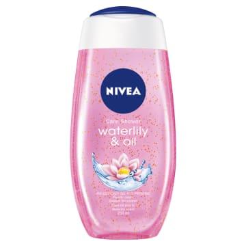Nivea – Żel pod prysznic Water Lily & Oil pomaga w codziennej higienie i delikatnie pielęgnuje.